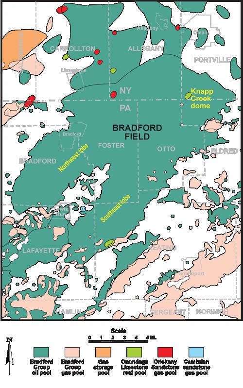bradford oil field
